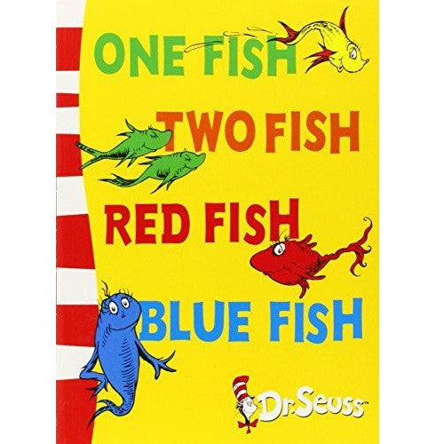 One Fish Two Fish Red Fish Blue Fish (PB-12-Bookset)