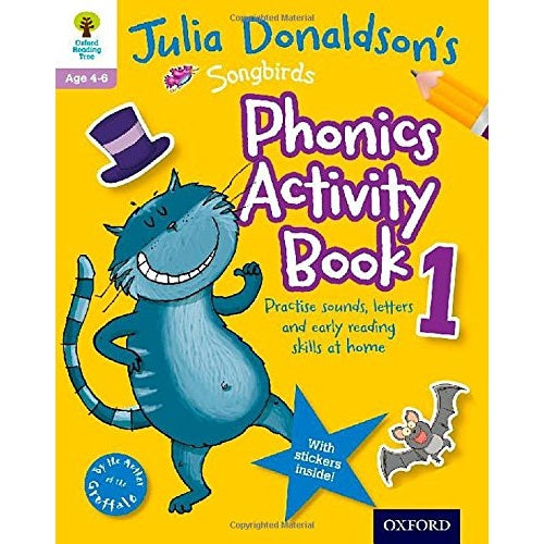 Julia Donaldson's Songbirds Phonics Activity Book 1