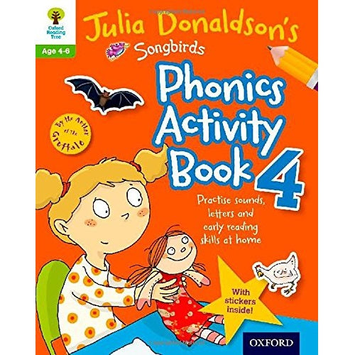 Julia Donaldson's Songbirds Phonics Activity Book 4