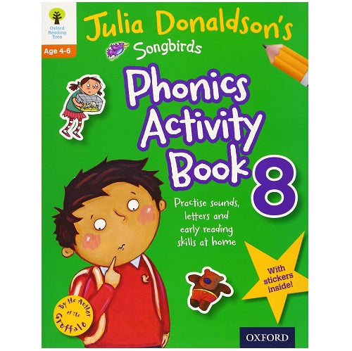 Julia Donaldson's Songbirds Phonics Activity Book 8
