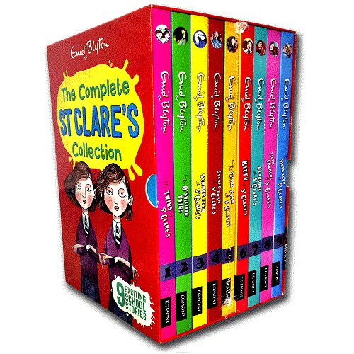 Enid Blyton St Clares 9 Books Collection