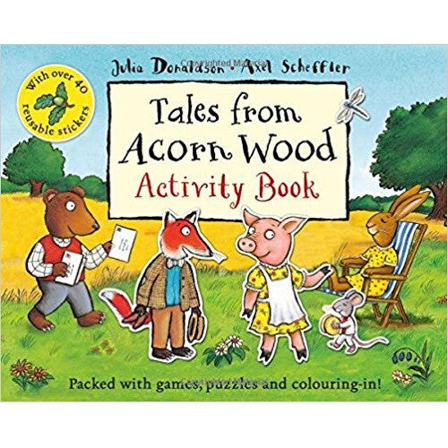 The Gruffalo Children Activity Collection - Tales From Acorn Wood Activity Book