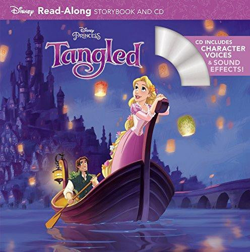 Tangled Read-Along Storybook and CD – My Little J