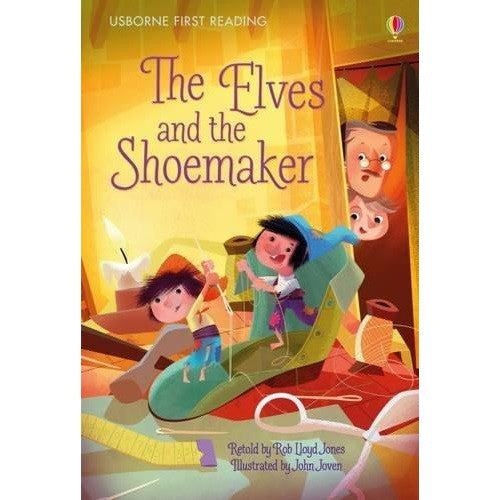 The Elves and The Shoemaker(Very First Reading)