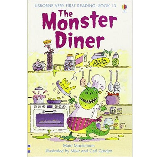 The Monster Diner (Very First Reading)