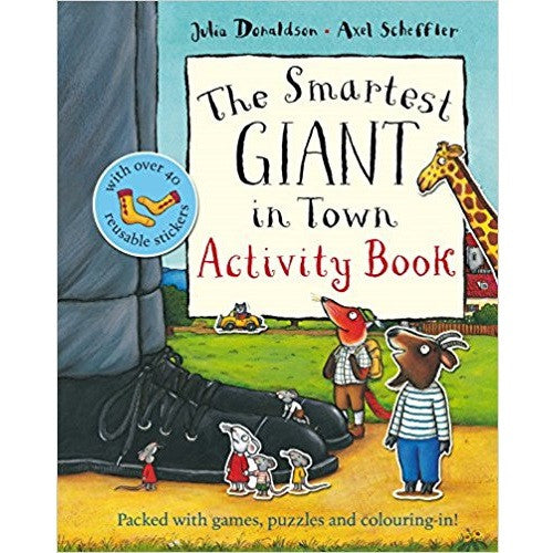 The Gruffalo Children Activity Collection - The Smartest Giant in Town Activity Book