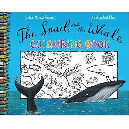The Gruffalo Children Activity Collection - The Snail and the Whale Colouring Book