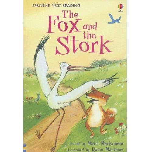 The Fox and The Stork (First Reading level One)