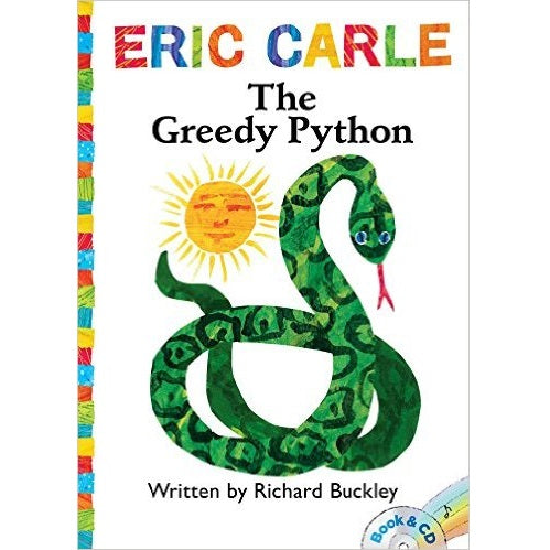 Greedy Python: Book & CD (World of Eric Carle)