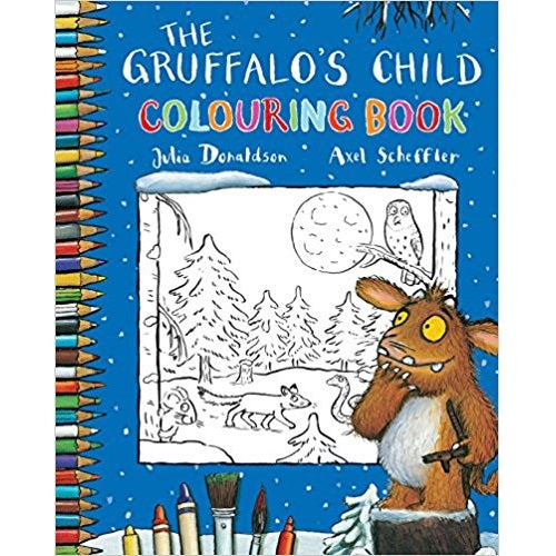 The Gruffalo Children Activity Collection - The Gruffalo's Child Colouring Book