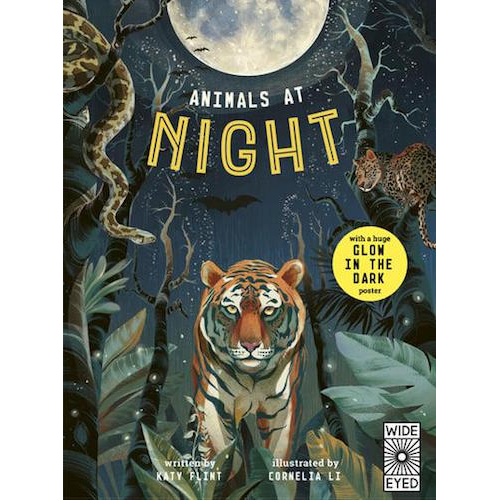 Animals At Night : Glow In The Dark