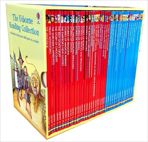 The Usborne Reading Collection - x40 book boxed set