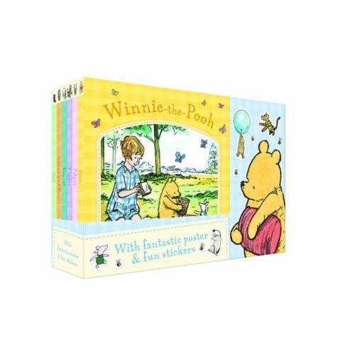 Winnie the Pooh 6 Books Collection Set Pack Series