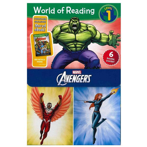 World of Reading: Avengers 6V Boxed Set ~ Level 1