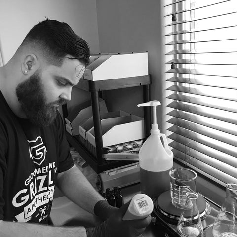 Groomed & Grizzly CEO, Lawrence Freitas, Crafting Beard Oils