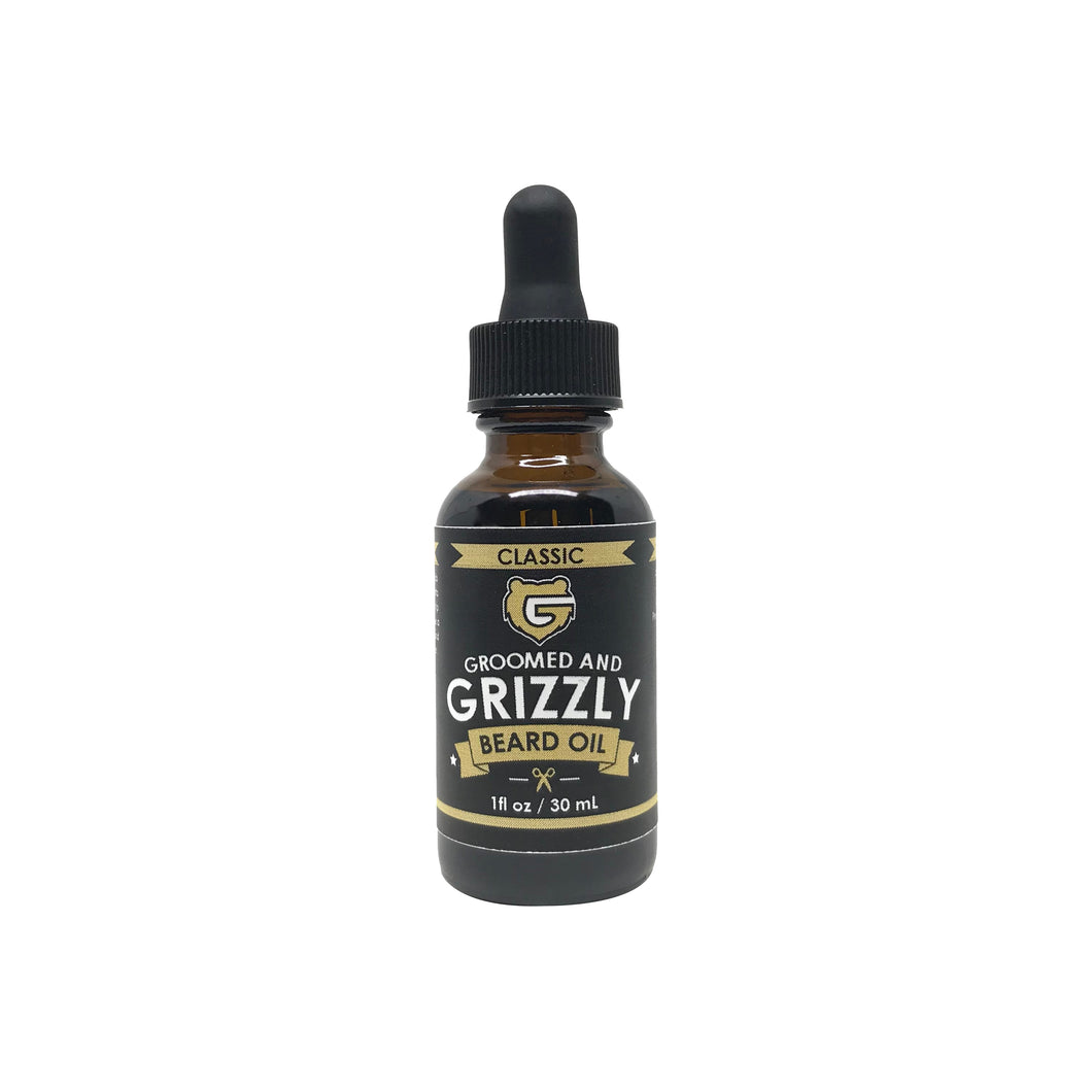 Classic Beard Oil by Groomed & Grizzly