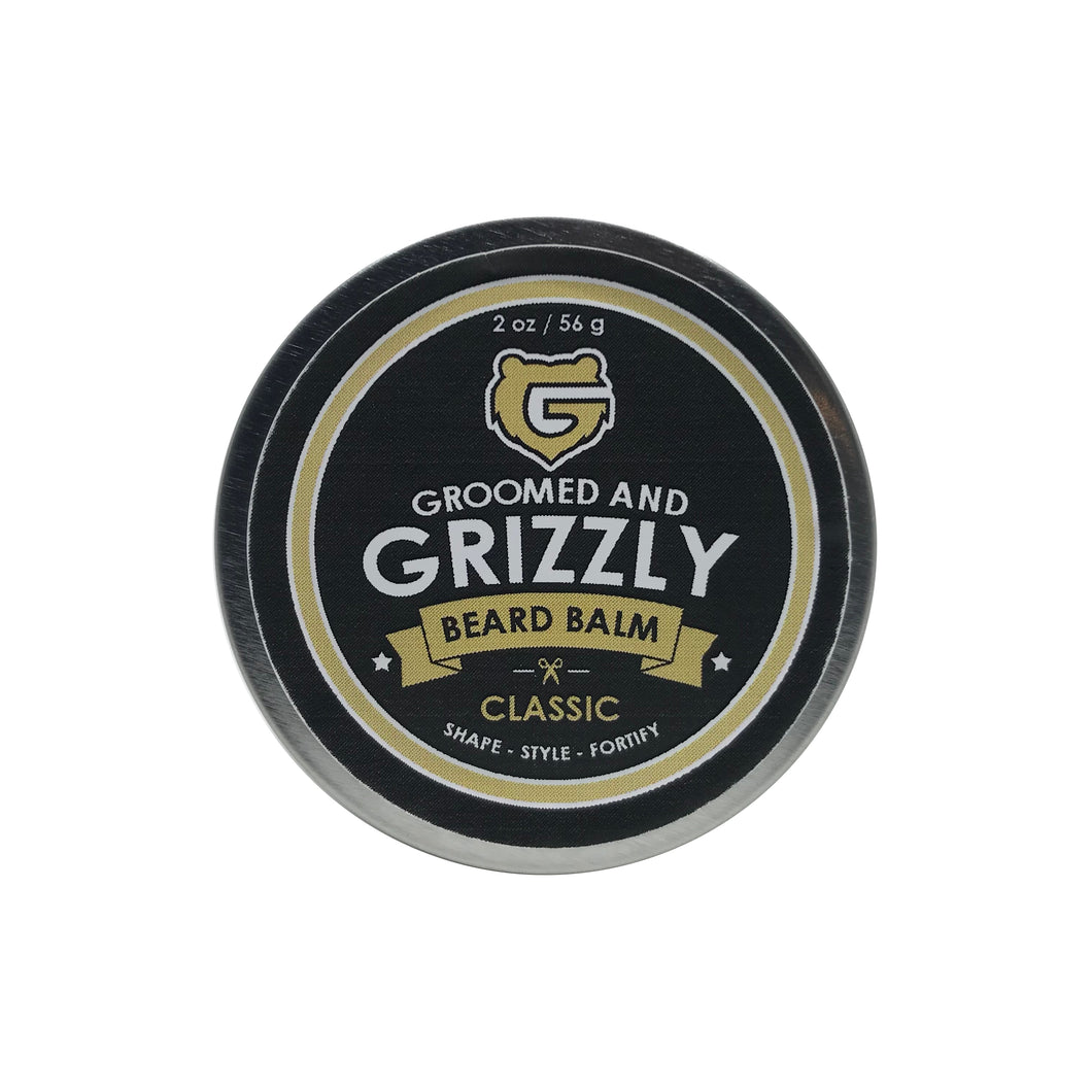 Classic Beard Balm by Groomed & Grizzly