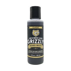 Classic Beard Wash by Groomed & Grizzly