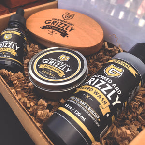 Beard Brush by Groomed & Grizzly