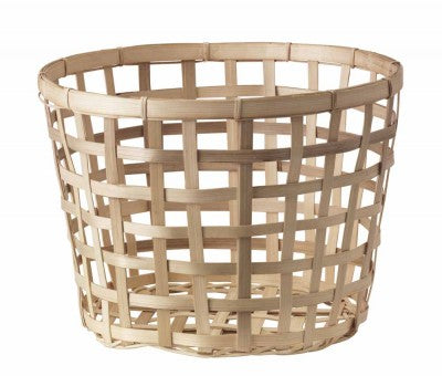 GADDIS baskets and BLAND MATT are Made of bamboo, which is an easy-care and hardwearing natural material. Bamboo is  grown sustainably.