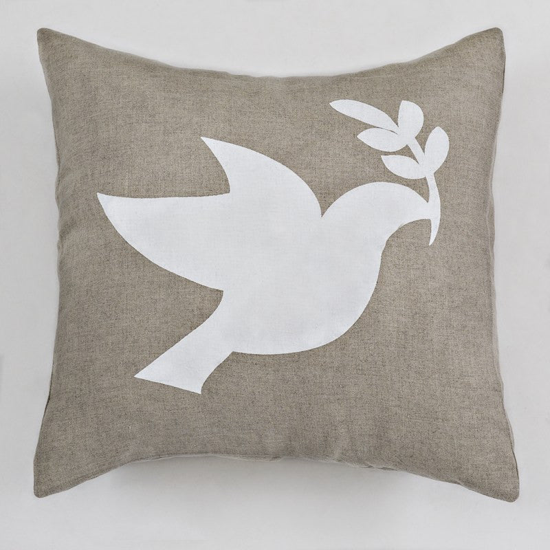 Linen (Peace) Cushion Cover