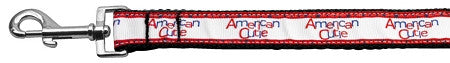 American Cutie Ribbon Leash