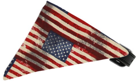 Old Glory Bandanna Pet Collar
