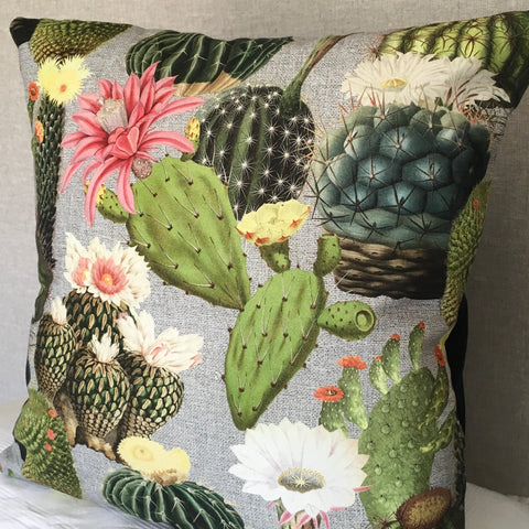 cactus cushion cover