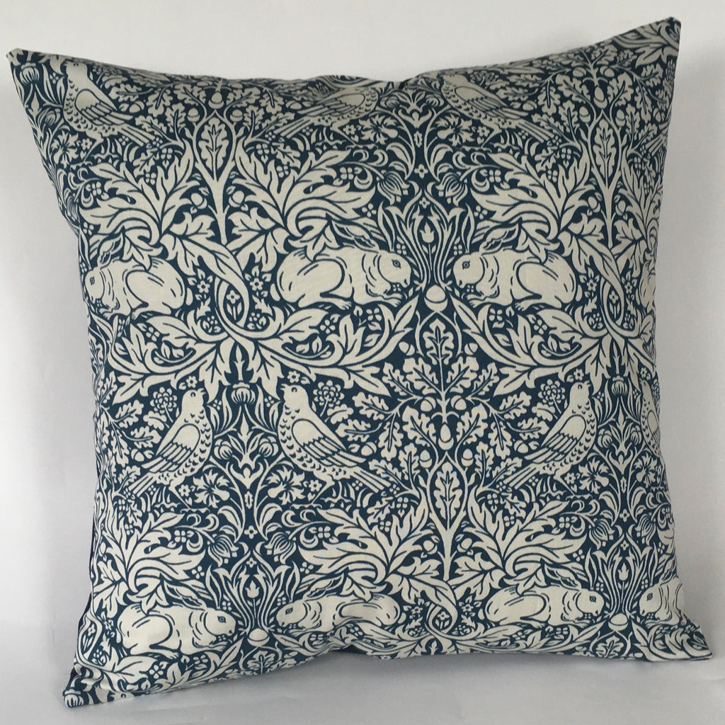 William Morris Brer Rabbit cushion