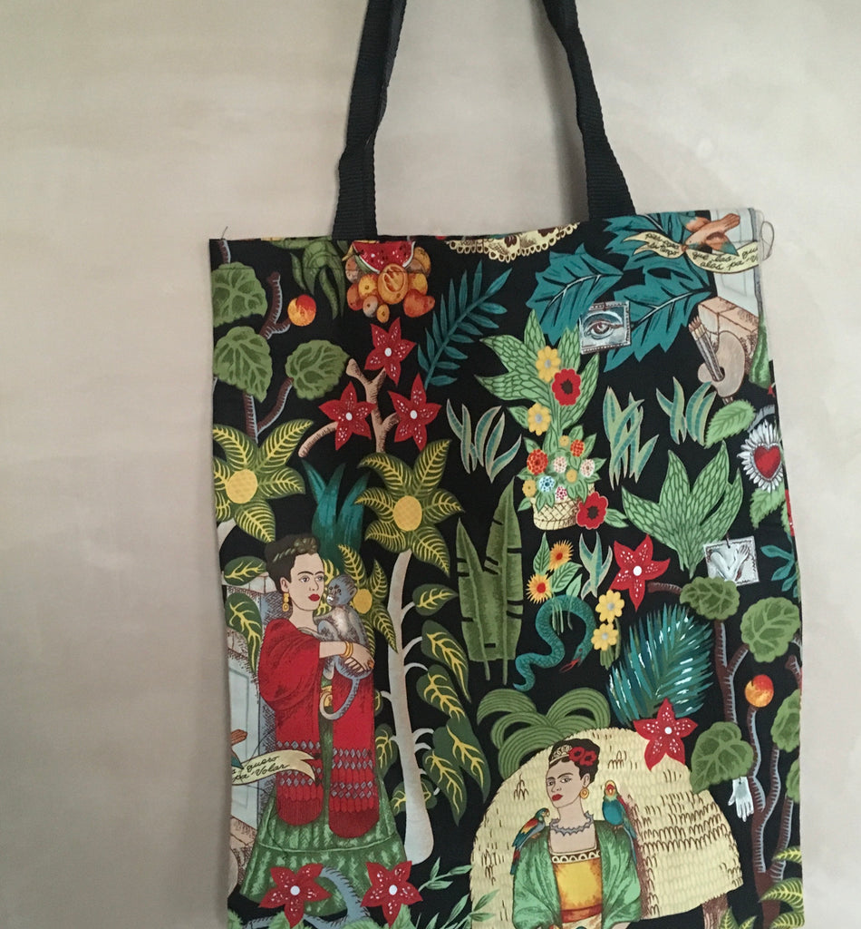 Frida tote bag - black