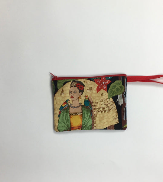 Frida Coin Purse (Black)