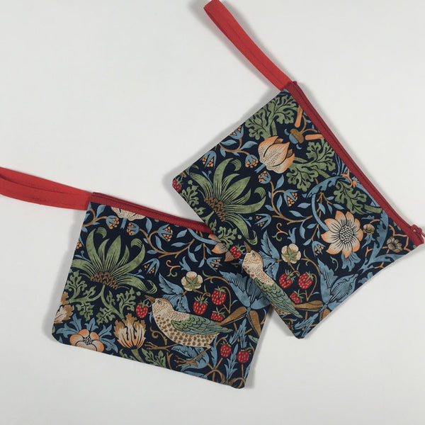William Morris The Strawberry Thief Coin Purse or Pouch
