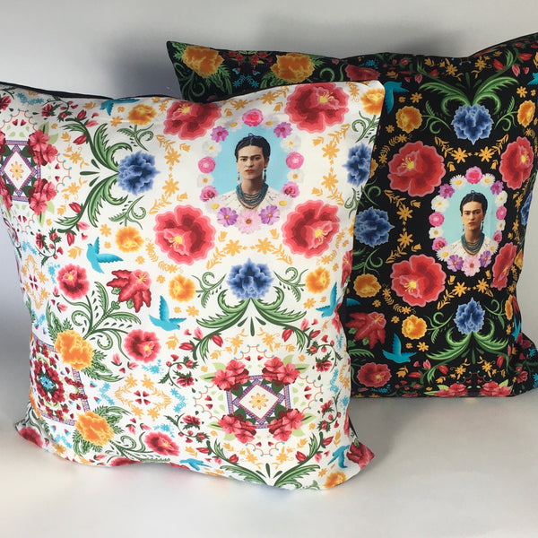 Mexican Frida cushion cover