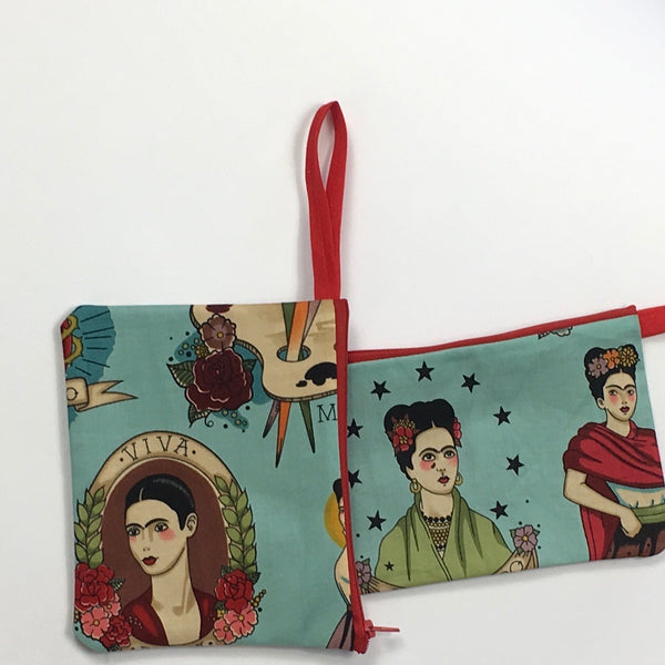 Frida Coin Purse (Blue)