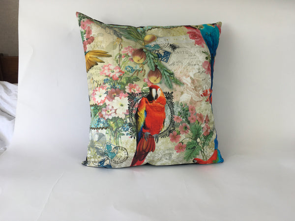Parrot Cushion Cover