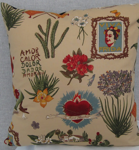 Frida cushion cover (cream)