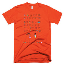 Load image into Gallery viewer, Alphabet T-Shirt (Mens) - COOLPHABETS.com - 13