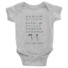Load image into Gallery viewer, Alphabet Baby Onesie (Upto 2 Yrs) - COOLPHABETS.com - 3