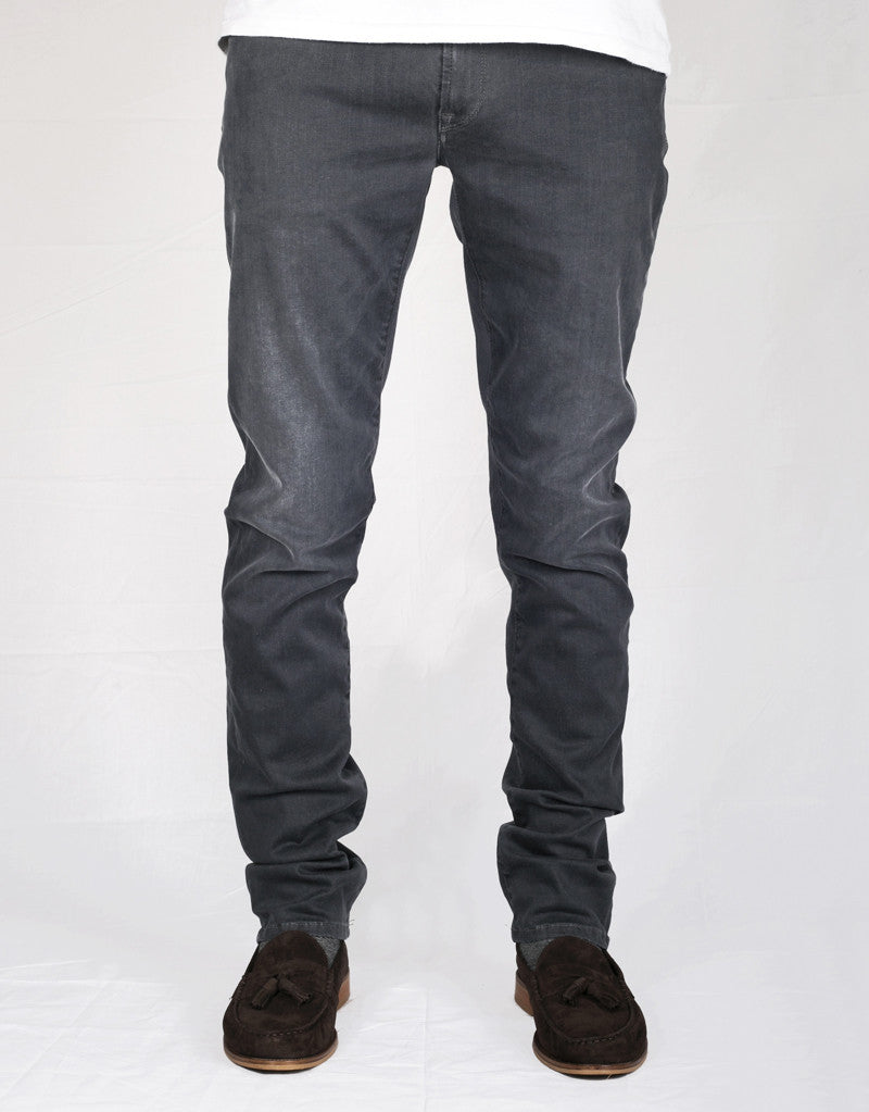 Leonardo Jean - 18 Moons Grey Nero Twill Denim