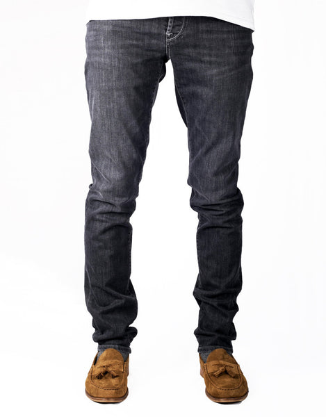 Leonardo Jean - 6 Moons Grey Nero Twill Denim