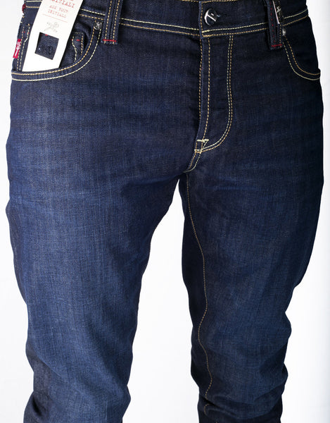 Leonardo Slim Jean - 1 Month Blue 24.7 Stretch Comfort Denim