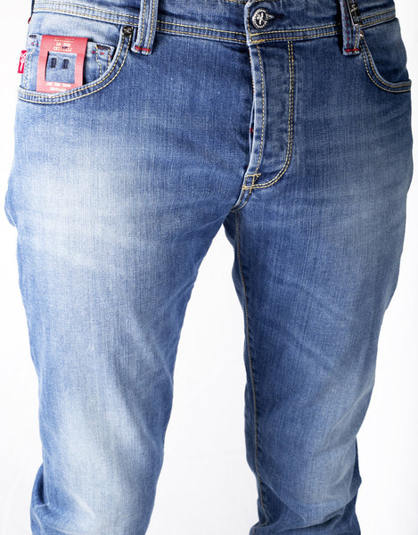 Leonardo Jean - 3 Year Deep Blue Bolt Denim