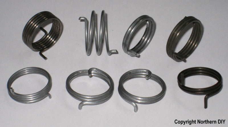 Round Wire Door Handle Spring Selection