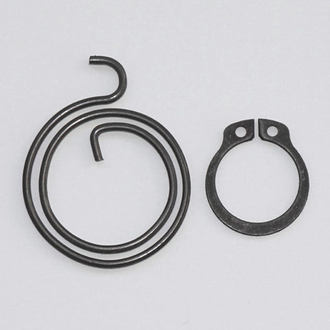 2-Turn Door Handle Springs plus Circlips, 1.8mm thick