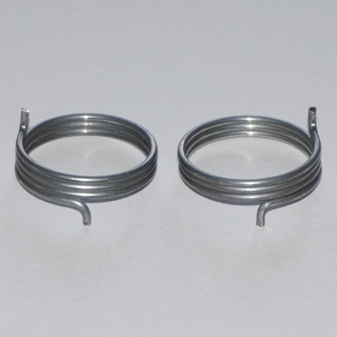 Door Handle Spring, 3+1/3 Turns, 1.2mm Round Wire, Side View