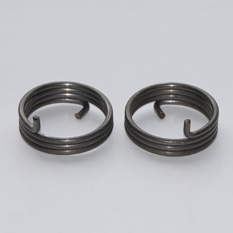 Door Handle Spring 3.5 Turn 1.6mm Round Wire Side View