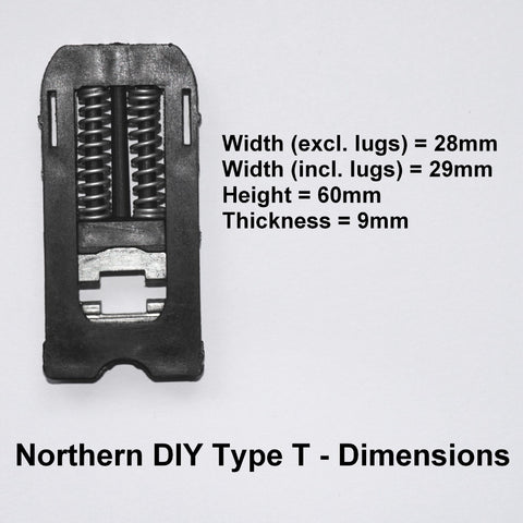 Trojan Door Handle Spring Cassette Northern DIY Type T