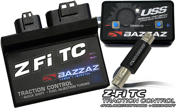 BAZZAZ  ZFI TC  TRIUMPH SPEED TRIPLE 2007-2010 T1590