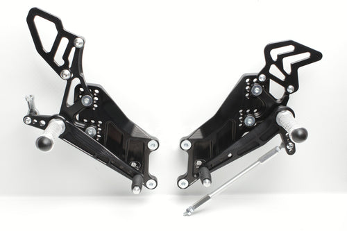 Rear Set Yamaha YZF R3 (2015-2020) R25/MT03/MT25 Full Race Version