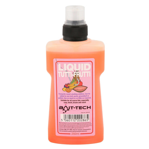 Bait-Tech Liquids 250Ml Liquid Tutti-Frutti Flavourings